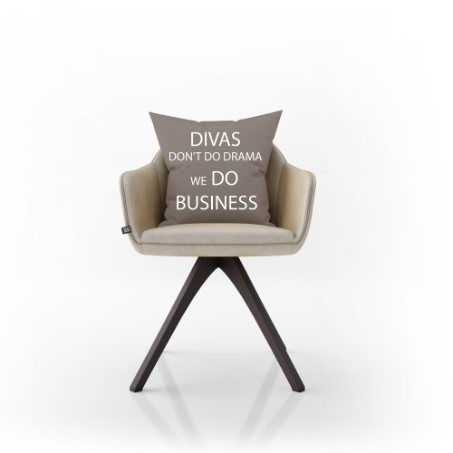 "Dekoratyvinė pagalvėlė ""Divas do business"""