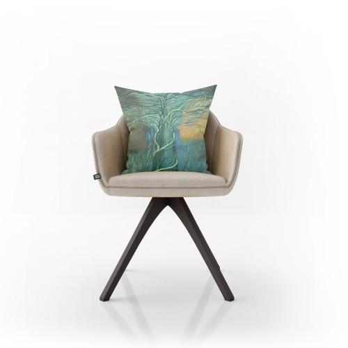 """Dekoratyvinė pagalvėlė """"Nykstantys siluetai"""""""